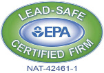 Carbon Copy Construction is an EPA Lead Certified Renovator